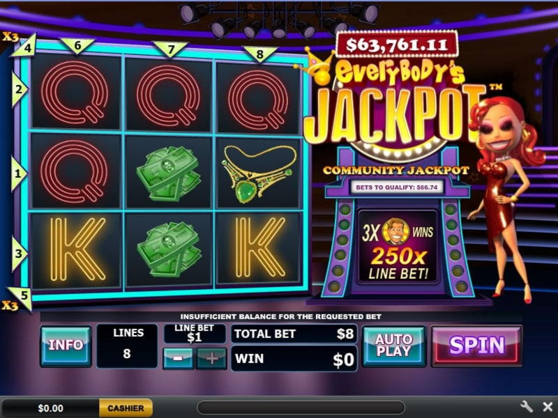 135 free spins at Slots Of Vegas Casino